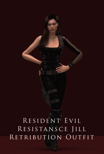 Resistance Jill Retribution Outfit
