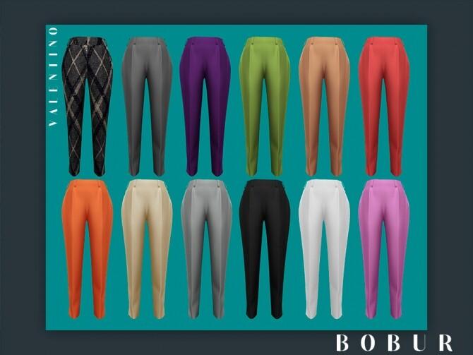 Valentino pants by Bobur3 at TSR image 1407 670x503 Sims 4 Updates