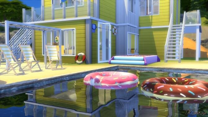 SUNNY OASIS HOME at Angelina Koritsa image 14111 670x377 Sims 4 Updates