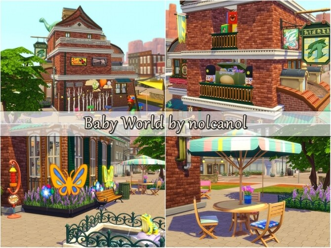 Baby World store by nolcanol at TSR image 1415 670x503 Sims 4 Updates
