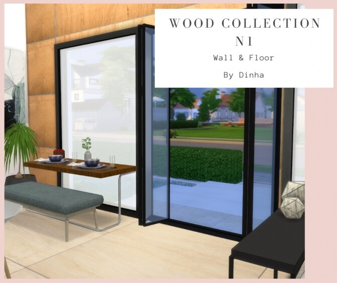 Wood Collection 6 Textures at Dinha Gamer image 1443 670x562 Sims 4 Updates