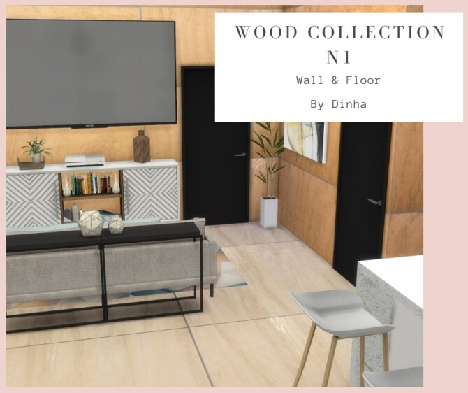 Wood Collection 6 Textures at Dinha Gamer image 1453 670x562 Sims 4 Updates