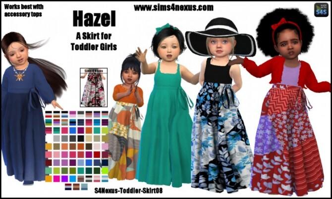 Hazel skirt for toddler girls by SamanthaGump