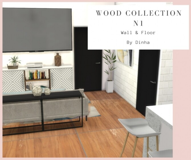Wood Collection 6 Textures at Dinha Gamer image 1462 670x562 Sims 4 Updates