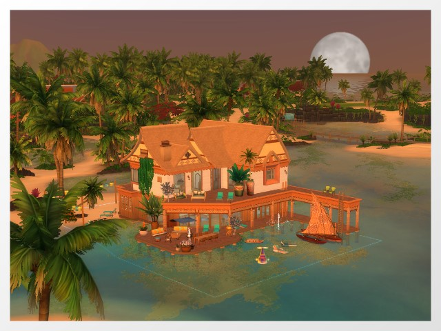 Holiday home on Sulani by Oldbox