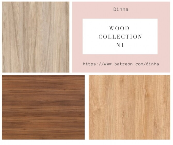 Wood Collection 6 Textures at Dinha Gamer image 1472 670x562 Sims 4 Updates