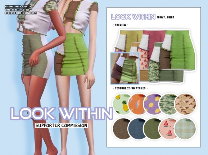 Look Within clothes collection at NEWEN image 1473 670x500 Sims 4 Updates