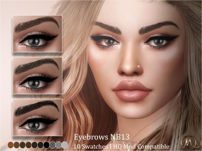 Eyebrows NB13