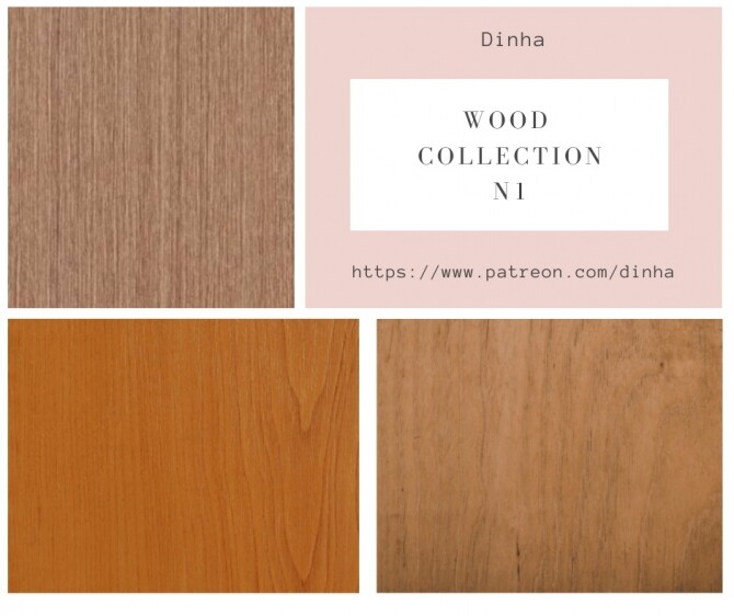 Wood Collection 6 Textures at Dinha Gamer image 1482 670x562 Sims 4 Updates