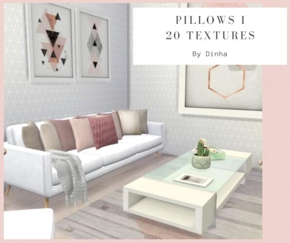 Pillows I - 20 Textures