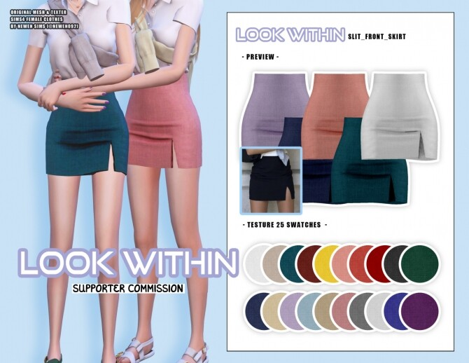 Look Within clothes collection at NEWEN image 1493 670x518 Sims 4 Updates