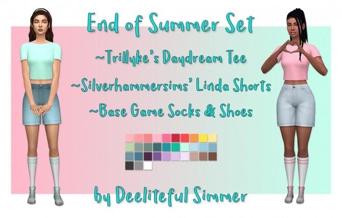 End Of Summer Set