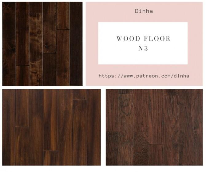 Sims 4 Wood Floor N3 at Dinha Gamer
