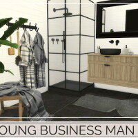 YOUNG BUSINESS MAN HOME
