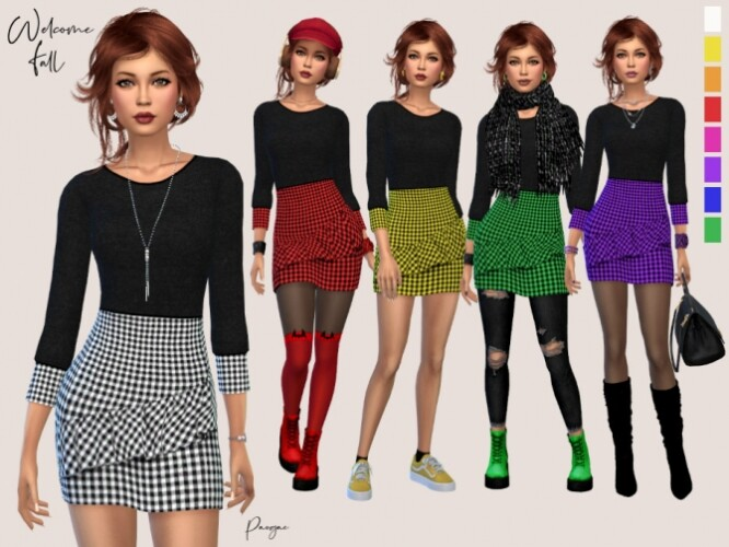 Welcome Fall outfit by Paogae