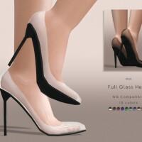 Full Glass Heels by DarkNighTt