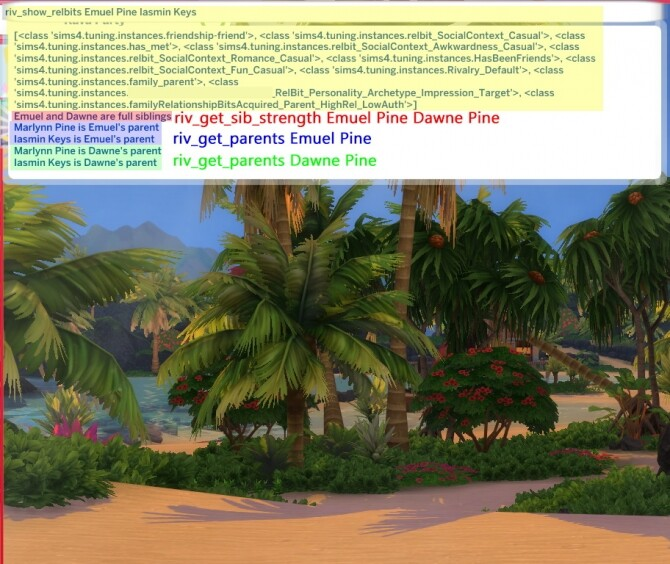Sims 4 Riv rel   distant relationships! by rivforthesesh at Mod The Sims