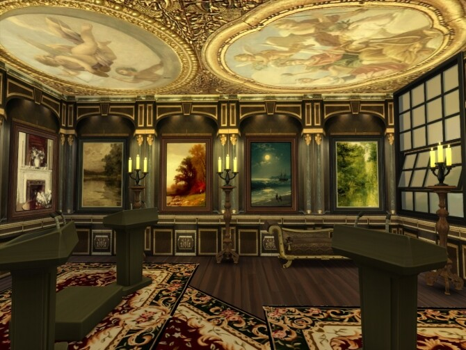 Dark Corners Set Of Walls at Anna Quinn Stories image 1601 670x503 Sims 4 Updates