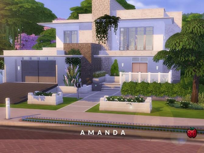 Sims 4 Amanda home by melapples at TSR