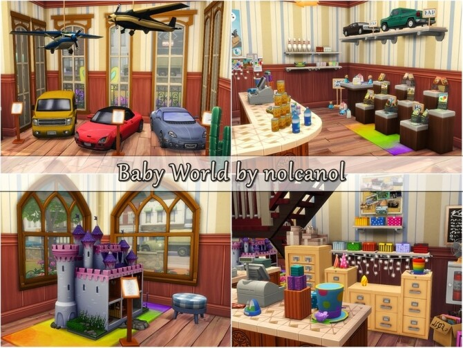 Baby World store by nolcanol at TSR image 1613 670x503 Sims 4 Updates