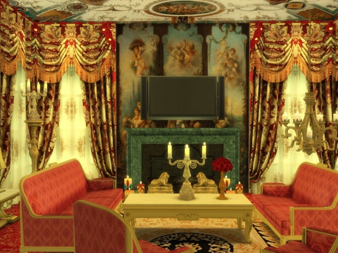 Curtains Set Luxury at Anna Quinn Stories image 1622 670x503 Sims 4 Updates