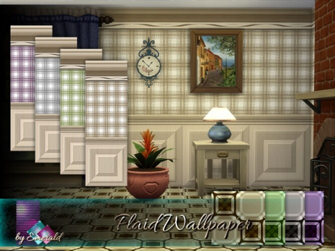 Plaid Wallpaper by emerald