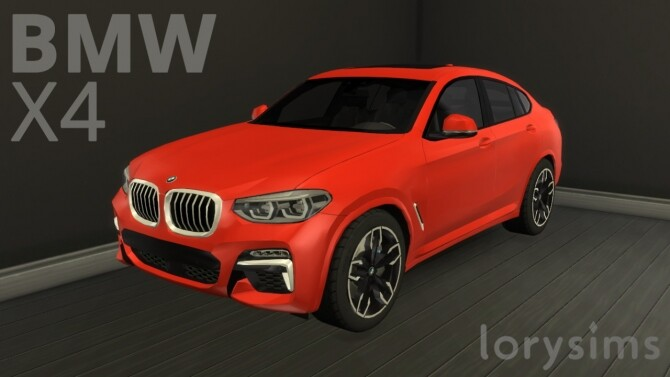 BMW X4 by LorySims