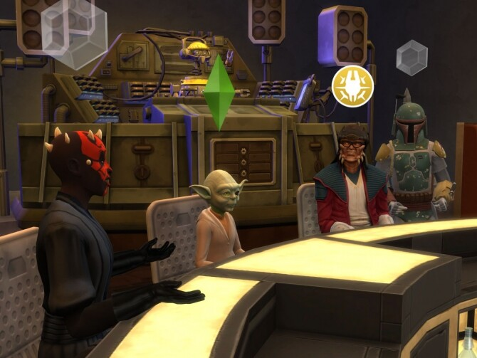 Sims 4 Star Wars costumes enabled for GP09 and Batuu by letrax at Mod The Sims