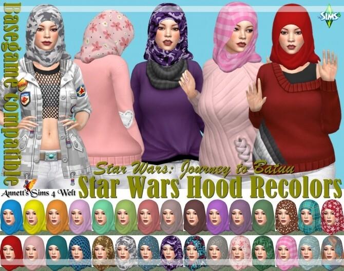 Star Wars Hood at Annett's Sims 4 Welt image 1665 670x529 Sims 4 Updates