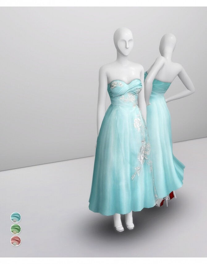 SS 2014 Collection I  2 dress at Rusty Nail image 1672 670x851 Sims 4 Updates