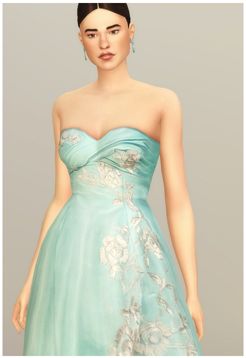 SS 2014 Collection I  2 dress at Rusty Nail image 1682 Sims 4 Updates