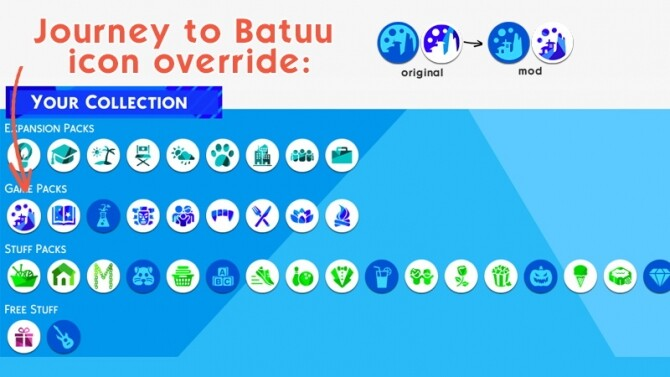 Journey to Batuu icon override by Louisim yt at Mod The Sims image 1685 670x377 Sims 4 Updates