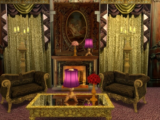 Sims 4 Changing The Curtains Set at Anna Quinn Stories