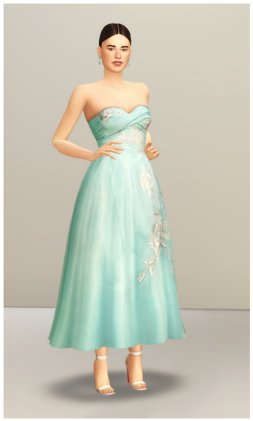 SS 2014 Collection I  2 dress at Rusty Nail image 1692 Sims 4 Updates