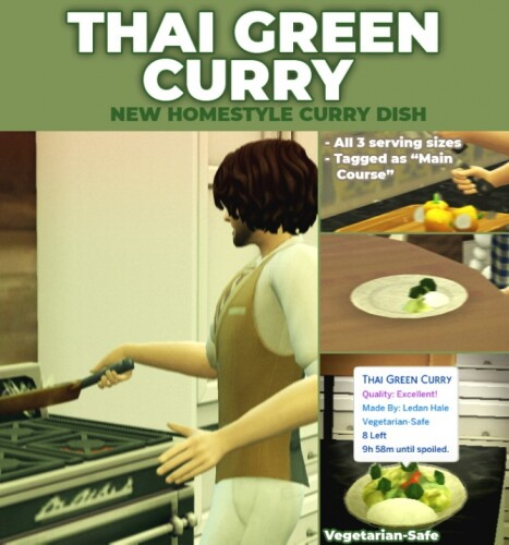 Thai Green Curry New Custom Recipe by RobinKLocksley