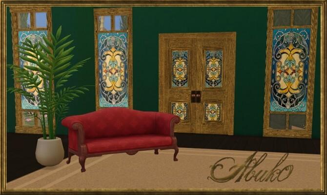 5 Vitro Glass Doors + Windows   3 recolors at Abuk0 Sims4 image 1721 670x400 Sims 4 Updates