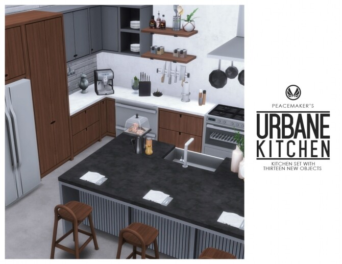 Urbane Kitchen by Peacemaker IC at Simsational Designs image 1723 670x517 Sims 4 Updates