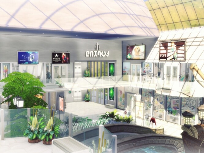 Shopping Mall Indoor Waterpark by Summerr Plays