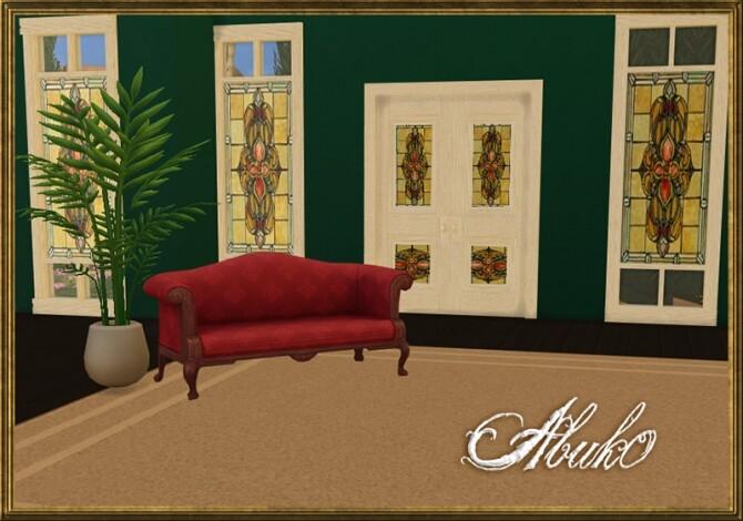 Sims 4 5 Vitro Glass Doors + Windows   3 recolors at Abuk0 Sims4