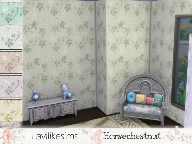 Sims 4 Horsechestnut wallpaper by lavilikesims at TSR