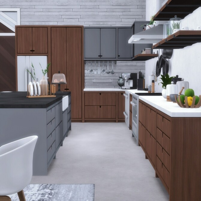 Urbane Kitchen by Peacemaker IC at Simsational Designs image 1732 670x670 Sims 4 Updates