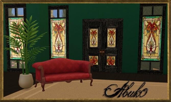 5 Vitro Glass Doors + Windows   3 recolors at Abuk0 Sims4 image 174 670x399 Sims 4 Updates