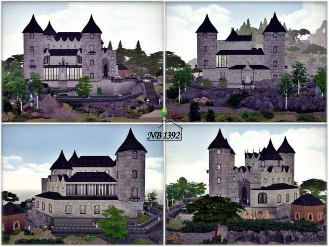 Castle of ten rocks by nobody1392 at TSR image 1740 670x503 Sims 4 Updates