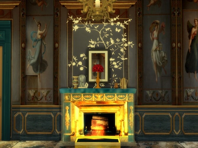 The Beauharnais hotel Fireplace & Curtains at Anna Quinn Stories image 1741 670x503 Sims 4 Updates