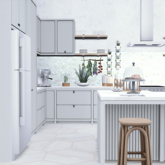 Urbane Kitchen by Peacemaker IC at Simsational Designs image 1742 670x670 Sims 4 Updates