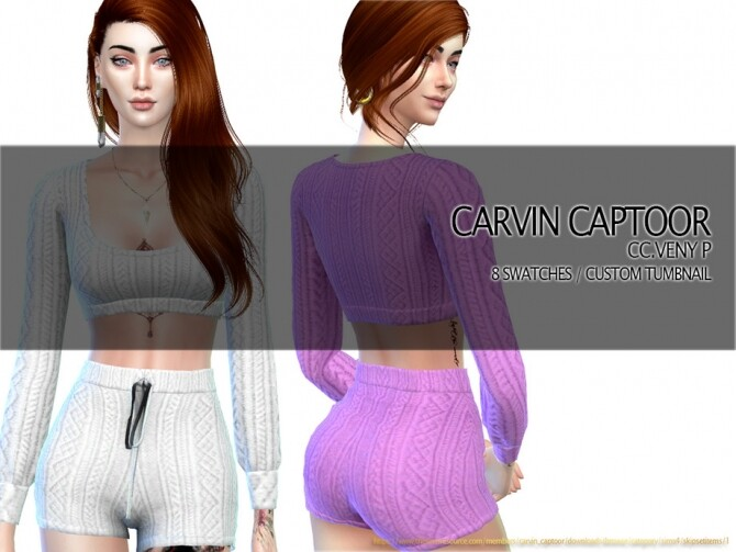 Sims 4 Veny P shorts by carvin captoor at TSR