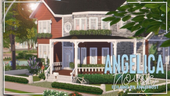 Sims 4 Angelica House at Anna Frost