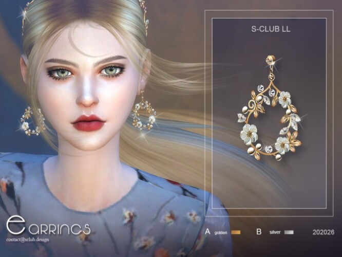 EARRINGS 20226 by S-Club LL