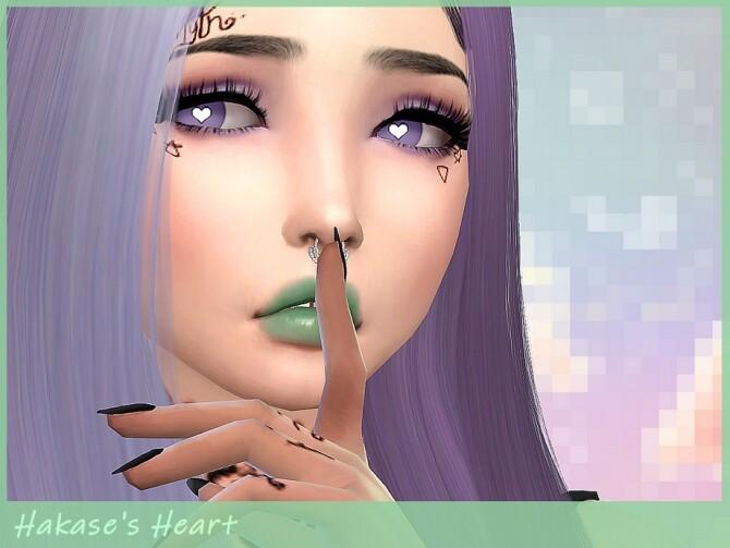 Sims 4 Hakases Heart Eyes by Saruin at TSR