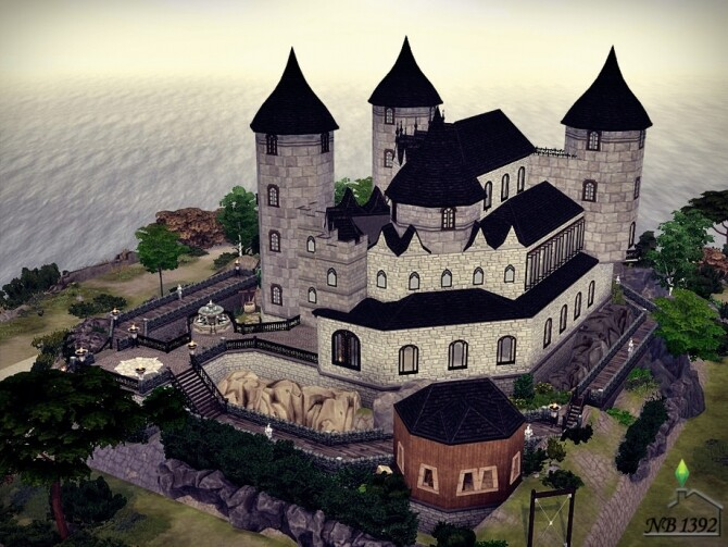 Castle of ten rocks by nobody1392 at TSR image 1838 670x503 Sims 4 Updates
